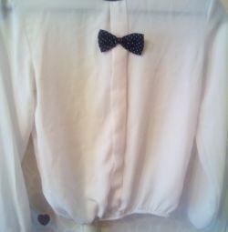Блузка на девочку 9-10