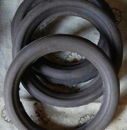 Резиновые заготовки для колес тележки