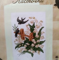Набір для вишивання хрестиком (листівка)