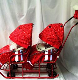 Sledge a carriage for twins accessories