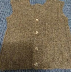 vest knitted