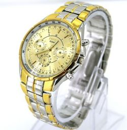 Wrist watch W072, steel