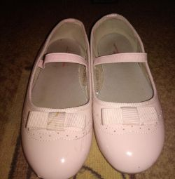 Ballet flats for the girl, 32 size