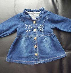 New denim dress for fashionistas !!!