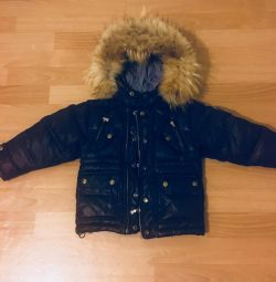 Excellent warm down jacket 3-5 years