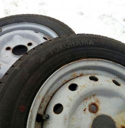 Два нових колеса (НОВІ) YOKOHAMA оригінал