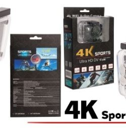 Action Camera 4K Sports