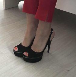 New stiletto shoes suede 38