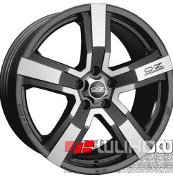 Колісні диски OZ Racing Versilia 9.5x20 PCD 5x114.3 ET 40 DIA 79.00 Matt Black + Diamond cut