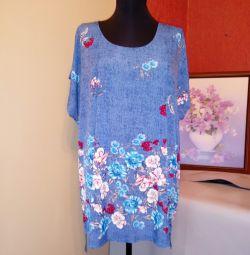 New blouse-tjanuchka 56-58-60 (see measurements)