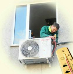 Installation, dismantling and those. maintenance of split systems