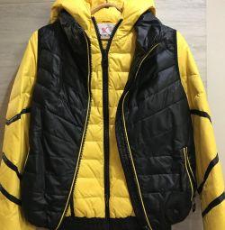 Куртка + жилетка 2в1
