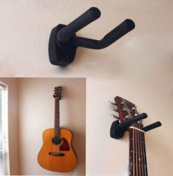 Wall mount for guitar