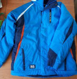 Новая зимняя куртка для мальчика 8-9 лет. NEXT