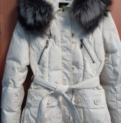 Jack-down jacket white