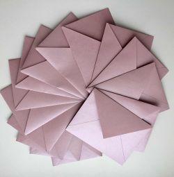 Конверты из дизайнерской бумаги ручной работы