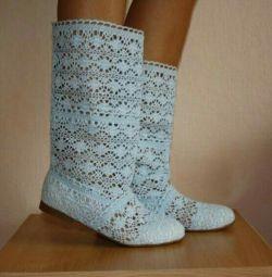 Γαντζωτές μπότες