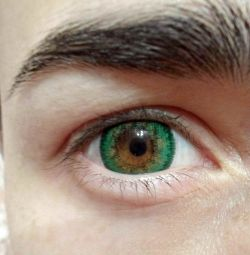 Green lenses at -1.5 and -4.5