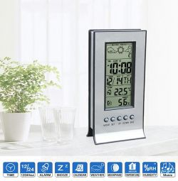Desktop clock thermometer Hygrometer