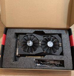 Игровая видеокарта Asus AMD radeon rx570 4 gb