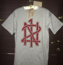 No21, tricou cool cu logo-ul brandului, ital