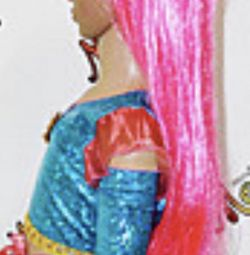 Peruk düz saçlar Uzunluk 95cm Yeni Yapay