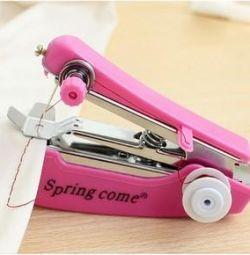 Χειροκίνητο ράψιμο μίνι-μηχανής