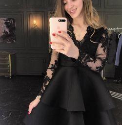 Платье вечернее кружевное