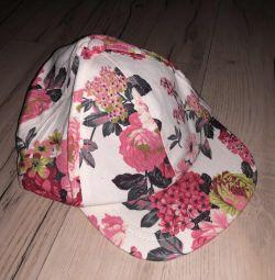 Καπέλο για ένα κορίτσι 2-3 χρόνια νέο