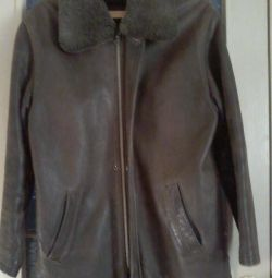 URGENTLY SELL == Men's leather jacket !!!