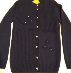 New Knitted sweater for growth 146-152