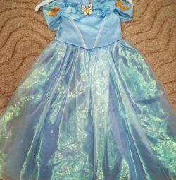 Cinderella + φόρεμα τιάρα