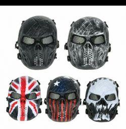 Handmade airsoft mask