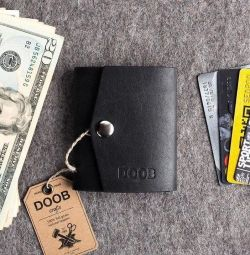 Mini wallet leather (new)