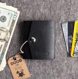 Mini cüzdan deri (yeni)