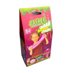 Small set for girls Slime pink