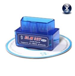 Auto scanner ELM327 OBD2 v1.5, v2.1 with installation