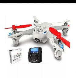 Quadcopter with online video hubsan PILOTAGE