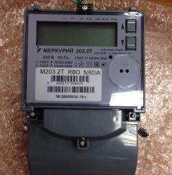 Contor electric Mercur 203,2 T nou