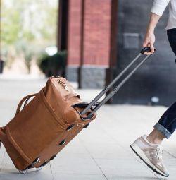 Bag - suitcase on wheels Remax Trevel