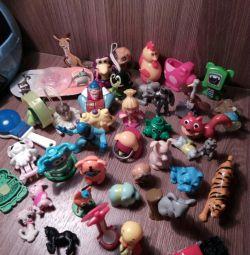 Киндер игрушки 4
