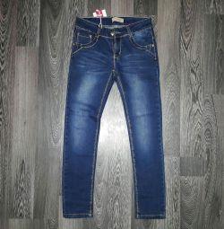 Jeans nou (înălțime 134)