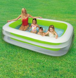 Οικογενειακή πισίνα 252 * 175 * 56