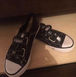 Παιδικά παπούτσια βελονάκι (unisex)
