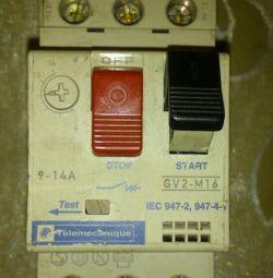 Автоматичні вимикачі GV2