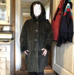 Second-hand sheepskin coat 48r
