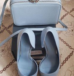 Σετ παπουτσιών + μίνι τσάντα