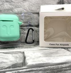 Airpods silikon için kılıf