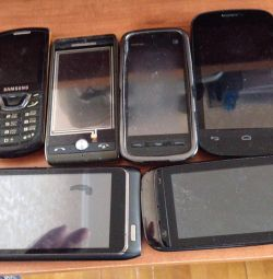 For parts A bunch of phones