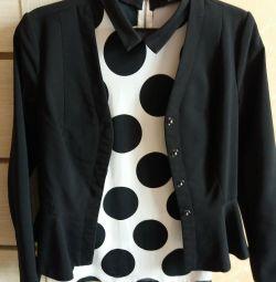 Jacket and blouson